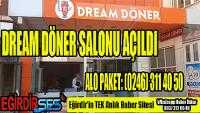 DREAM DÖNER SALONU AÇILDI